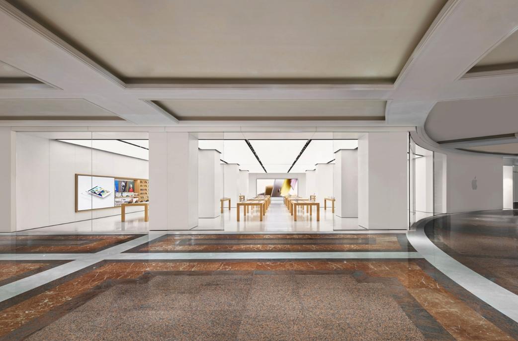 苹果直营店介绍之上海环球港Apple Store