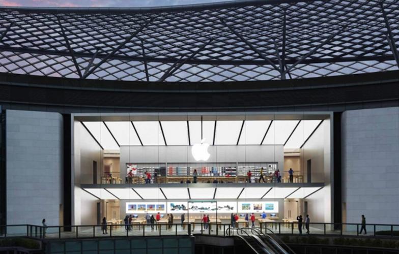 苹果直营店介绍之广州天环广场Apple Store