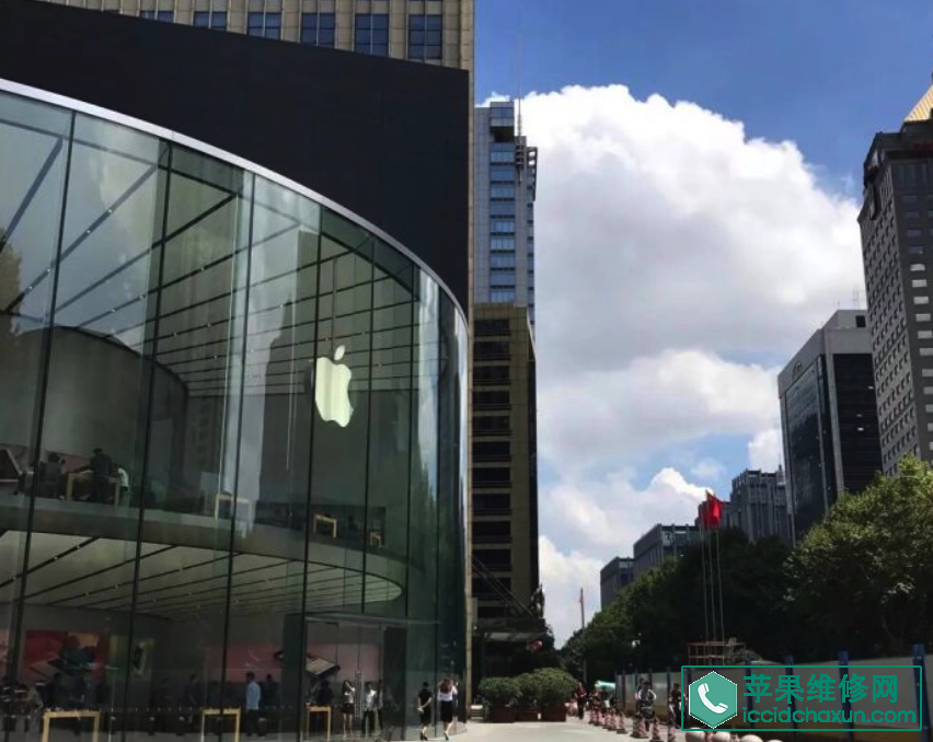苹果直营店介绍之Apple Store南京艾尚天地店