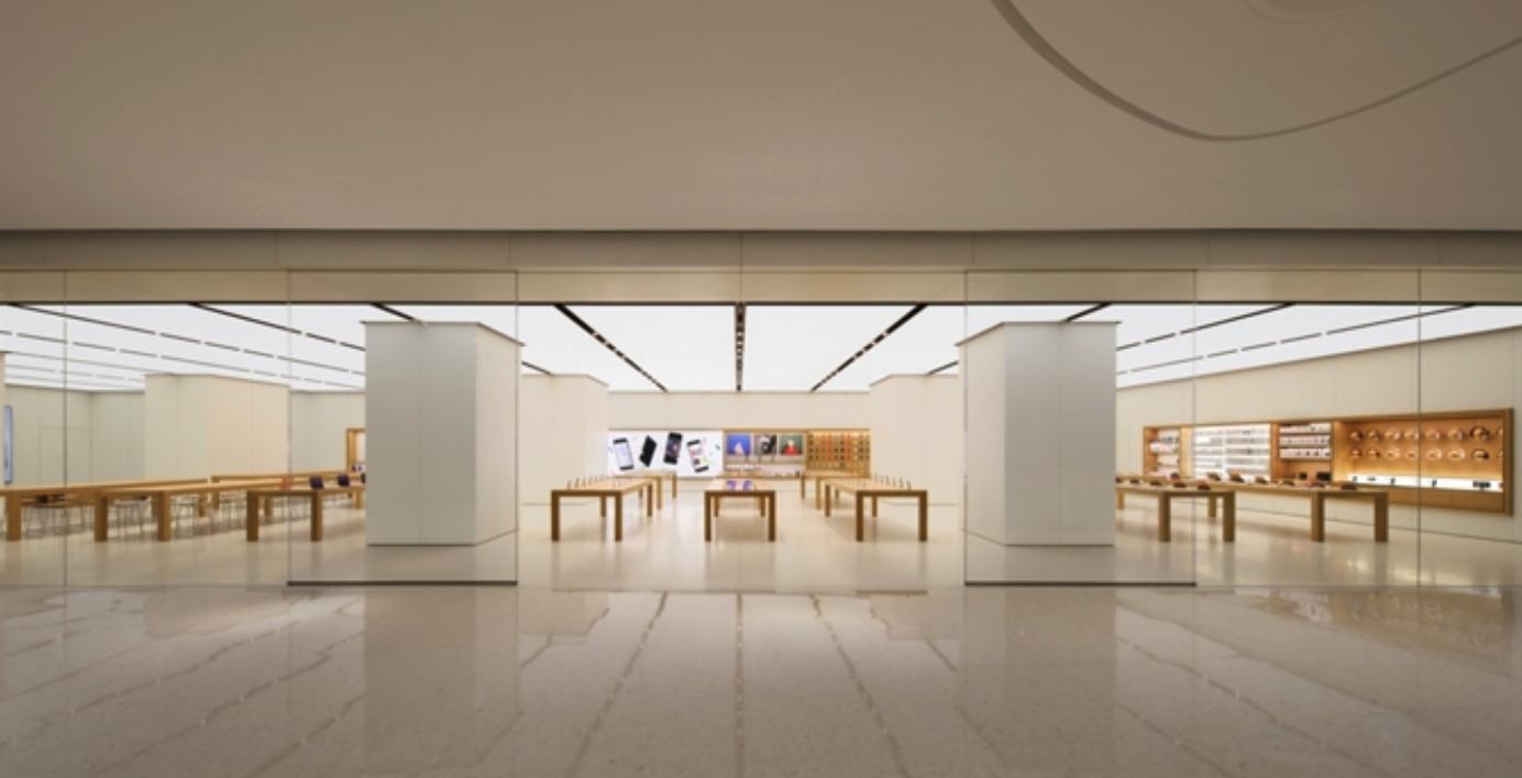 苹果直营店介绍之广州珠江新城苹果AppleStore