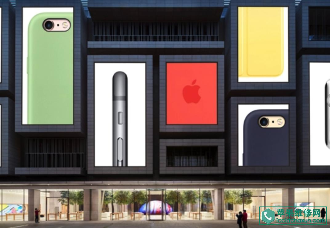 苹果直营店介绍之天津恒隆广场apple store