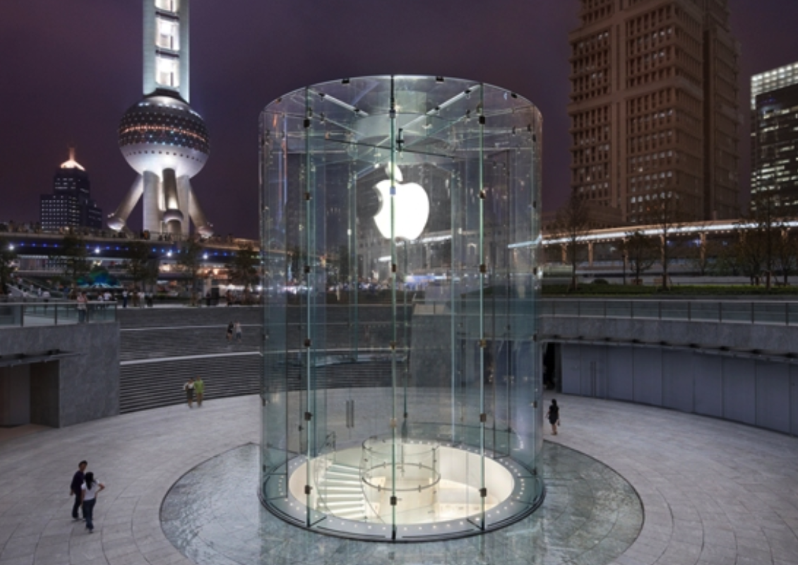 苹果直营店介绍之上海浦东Apple Store