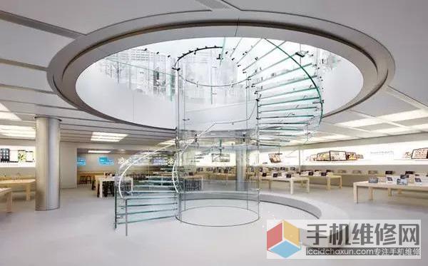 苹果直营店介绍之福州Apple Store泰禾广场店