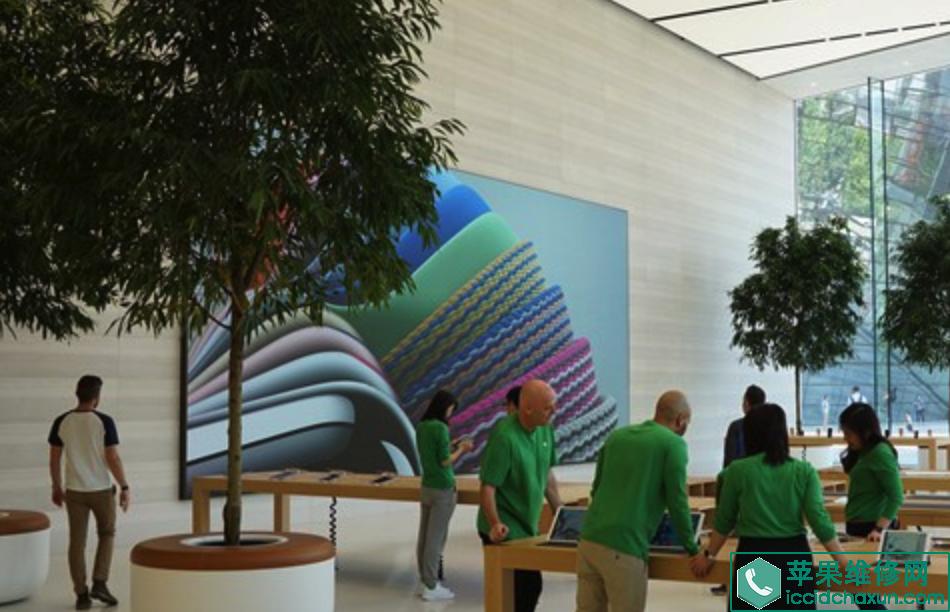 济南恒隆广场的苹果直营店apple store怎么样