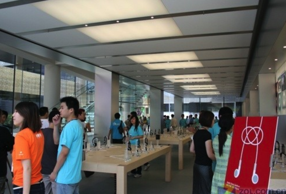 苹果直营店介绍之北京三里屯苹果直营店AppleStore