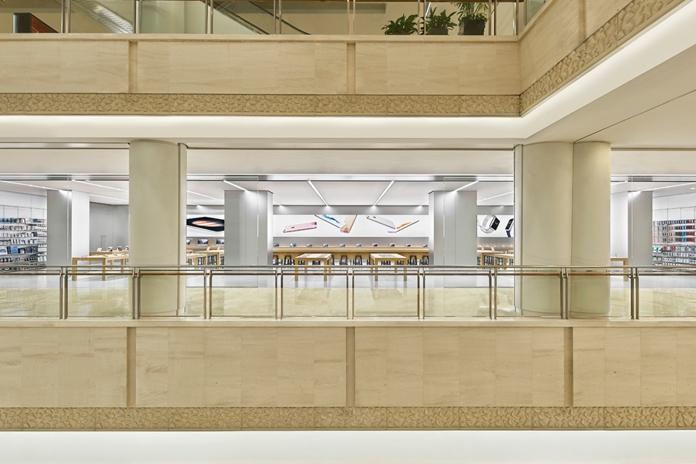 苹果直营店介绍之Apple Store南京虹悦城店