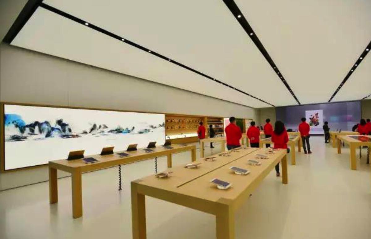 苹果直营店介绍之Apple Store厦门新生活广场店