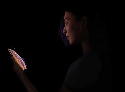 iPhone XS人脸识别设置方法及面部解锁使用技巧