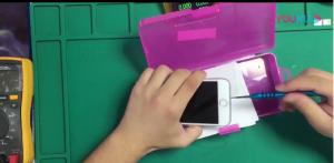 青岛苹果iPhone8手机充电充不进故障维修步骤